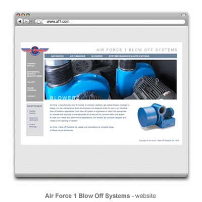 Air Force 1 website