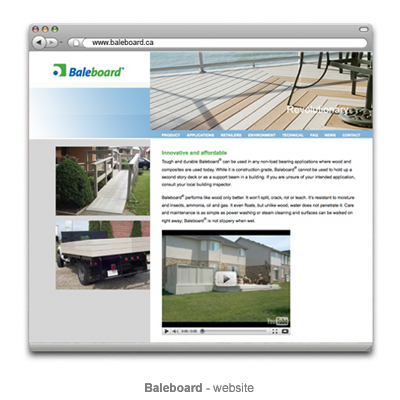 Baleboard website