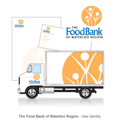 FoodBank of Waterloo identity