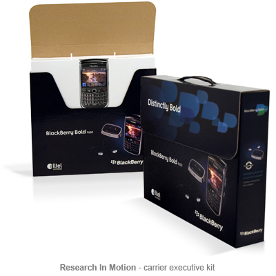 Blackberry specialty device packaging