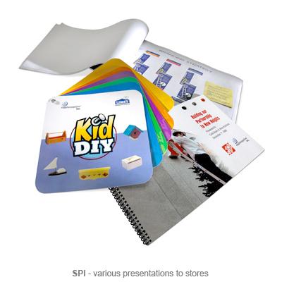 SPI various store presentations