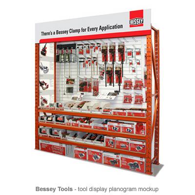 Bessey Tools planogram