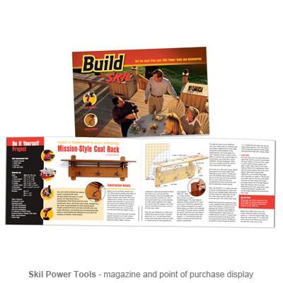 Skil Build magazine
