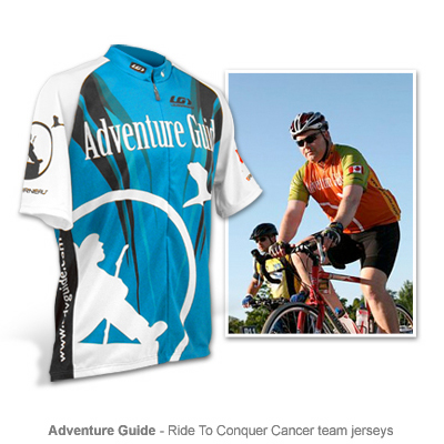 Adventure Guide cycling jersey series