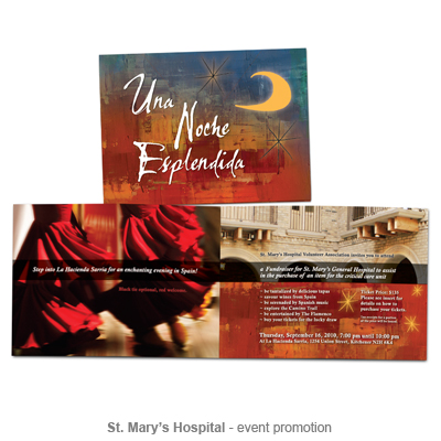 St. Mary's Hospital event promotion