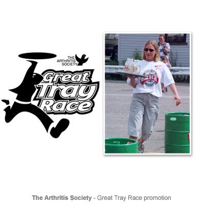 Arthritis Society event promotion