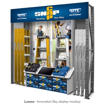 Lowes Innovation Bay display